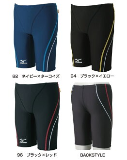 85RP-302 mizuno Mizuno ExerSuits exe suit mens men's practice for swimwear swimming swimsuit half spats practice swimwear fs3gm
