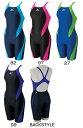 【あす楽対応】85OP-357 mizuno ミズノ ExerSuits エクサースーツ レディース 女性用 練習用水着 競泳水着 ハーフスパッツ ハーフスーツ 練習水着 競泳用水着
