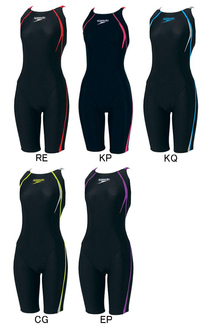 【FINA承認】SD40H53F speedo スピード FLEXΣ フレックスシグマ レディース 女性用 ショートジョン ハーフスパッツ ハーフスーツ 競泳水着 競泳用水着