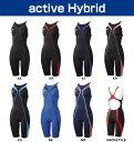【あす楽対応】【FINA承認】SD42H05 speedo スピード Fastskin-XT active Hybrid レディース 女性用 競泳水着 ウイメンズ ショートジョン 競泳用水着 fs04gm