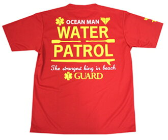 Short-sleeved T-shirt RD fs3gm for TGRD2-13M TYR tear SURFPATROL LIFE GUARD lifesavers
