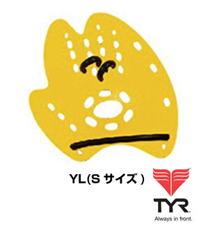 LMENTOR-YL TYR TIA トレーニングパドル for swimming swimming S size beginner to intermediate