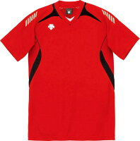 DESCENTE (デサント) 半袖ゲームシャツ(ユニセックス) DSS4922 RBK 1612 メンズ レディース バレー スポーツ 運動の画像