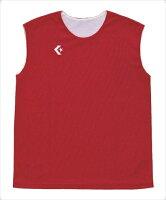 CONVERSE (コンバース) ウィメンズリバーシブルノースリーブシャツ 6411 CB33704 1803 バスケットボール レオタードの画像