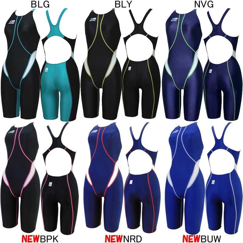 コーズ(KOZ)女性用 競泳水着 ウイメンズハーフスパッツ KOZ-1656W