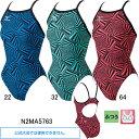 ミズノ(MIZUNO) 女性用トレーニング水着 寺川綾コレクションエクサスーツウイメンズミディアムカット N2MA5763