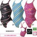 ミズノ(MIZUNO)女性用 競泳水着 寺川綾コレクション ストリームアクセラ ウイメンズミディアムカット N2MA6231