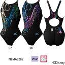 ミズノ(MIZUNO)ディズニープリンセス(シンデレラ) 女性用 競泳水着 ストリームアクティバ ウイメンズローカット(オープン) N2MA6282