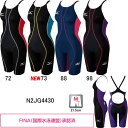 ミズノ(MIZUNO) 女児用 競泳水着 マイティソニックR ジュニアハーフスーツ N2JG4430