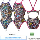 ミズノ(MIZUNO)女児用トレーニング水着 トイストーリー(Toy Story)エクサスーツジュニアミディアムカット N2MA7481