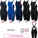 ミズノ(MIZUNO)女性用 競泳水着 ストリームアクティバ ウイメンズハーフスーツ(オープン) N2MG6240