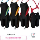 ミズノ(MIZUNO)女性用 競泳水着 ストリームアクセラ ウイメンズハーフスーツ N2MG7224
