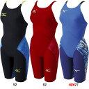 ミズノ(MIZUNO)女性用 競泳水着 GX-SONIC III ST ウイメンズハーフスーツ N2MG6201 【smtb-k】【kb】