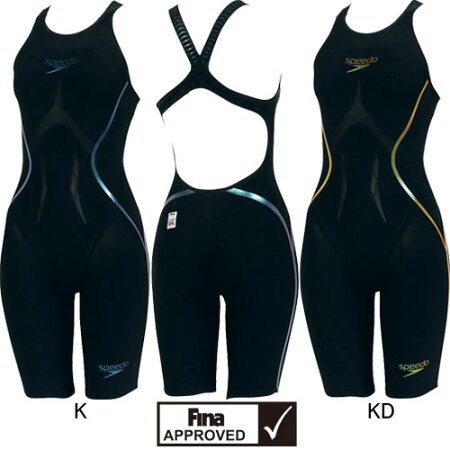スピード(SPEEDO)女性用競泳水着LZRRACERXオープンバックニースキンSD45H51【smtb-k】【kb