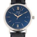 [新品] IWC ポートフィノ オートマティック IW356523 ステンレス/ブラックアリゲーター ブルー文字盤 自動巻き 40mm 腕時計