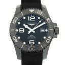 ロンジン LONGINES ハイドロコンクエスト L3.784.4.56.9 セラミック/ブラックラバー マットブラックセラミック 自動巻き 43mm メンズ腕時計