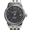 ティソ TISSOT 腕時計 T41.1.183.53 T-クラシック ル・ロックル オートマティック ステンレス ブラック 自動巻き 25.3mm レディース