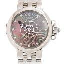 [新品] TUDOR チューダー(チュードル) クレア ド ローズ 35400-65740-NC11DI-BK 12Pダイヤ ステンレス グレーマザーオブパール 自動巻き 30mm レディース腕時計