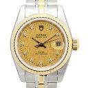 [新品] TUDOR チューダー(チュードル) プリンセスデイト 92413-62433-10DI-CHCL 10Pダイヤ SS&YG ステンレス/ゴールド シャンパンゴールド 自動巻き 25mm レディース腕時計