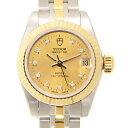 [新品] TUDOR チューダー(チュードル) プリンセスデイト 92413CH10D 10Pダイヤ SS&YG ステンレス/ゴールド シルバー 自動巻き 22mm レディース腕時計