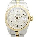 [新品] TUDOR チューダー(チュードル) プリンセスデイト 92413-62433-SVCL SS&YG ステンレス/ゴールド シルバー 自動巻き 25mm レディース腕時計