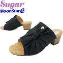 【あす楽】ムーンスター MoonStar キッズ ジュニア 女の子 サンダル SG J490 ブラック ミュール evid /-