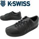 ケースイス K-SWISS メンズ スニーカー クラシック88 オールブラック ローカット カジュアルシューズ 定番 evid