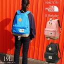 ザ・ノースフェイス THE NORTH FACE 19L NMJ71751 キッズ ジュニア リュック K バークレー 男の子 女の子 バックパック デイパック 通学 通園 遠足 外出 旅行 買い物 ハイキング evid /-