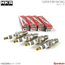 HKS/エッチ・ケー・エス 4本セット SUPER FIRE RACING M40XL PLUG M-XL SERIES SUBARU ステラ RN1,RN2 プラグ