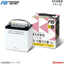 古河バッテリー ECHNO IS/エクノIS エスティマ DBA-ACR30W 05/5-06 新車搭載: 55D23L 1個 品番:Q-85/D23L 1個