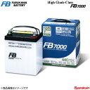 古河バッテリー ハイグレードクラスカーバッテリー FB7000 レガシィ DBA-BM9 2009- 品番:80D23R