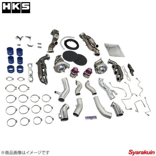フルタービンキット(ウエストゲートシリーズ)HKS GT FULL TURBINE KIT ランエボ CZ4A(X) 4B11 07/10- HKS フルタービンキット(ウエストゲートシリーズ)