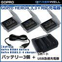 【GoPro】FREEWELL GoPro HERO4 バッ...