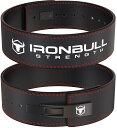 レバーアクションベルト レバーベルト トレーニングベルト パワーベルト 筋トレ ベルト 腰ベルト リフティングベルト 腰痛ベルト スクワット ベンチプレス デッドリフト 筋トレ 筋力トレーニング トレーニング パワーリフティング Iron Bull Strength(アイアン ブル)