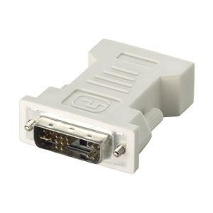 BUFFALO ディスプレイ変換アダプター DVI-Iオス:D-Sub15メス