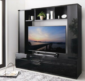 送料無料 テレビ台 ハイタイプ テレビボード 壁面収納