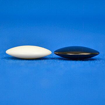 プラ碁石(1粒売り) 椿(厚み約6mm)