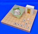 圍棋, 象棋, 麻將, 西洋象棋 - 将棋セット 新桂1寸卓上将棋盤セット(木製将棋駒樺材優良押し駒)