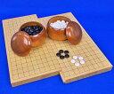 圍棋 - 囲碁セット 19路9路ヒバスライド囲碁盤セット(蛤碁石25号実用・桜碁笥大)