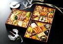 トオカツフーズ和洋中おせち「招福」冷凍三段重 49品目 約4〜5人前 早割