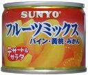 賞味期限2021年11月1日サンヨー 缶詰デザート&サラダフルーツミックス