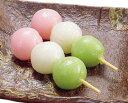 オリジナル)三色花団子 約30g×10本入(業務用食材 デザート スィーツ 和菓子)