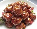 アスクフーズ)黒酢五菜肉団子1kg(約36個)(業務用食材 肉料理 グリル ロースト 洋食 おかず)