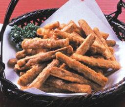 ニチレイ)ごぼうの唐揚 600g(約150?200個入)(業務用食材 ごぼう 牛蒡 唐揚げ 野菜 和食)