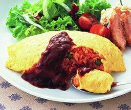 ニッスイ)ふんわり卵のオムライス 1食250g(業務用食材 洋食 夕食 昼食 ランチ おかず)