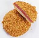 ケーオー産業)ハムカツ 780g(12枚入)(業務用食材 ハムカツ 洋食 肉料理 冷凍食品)