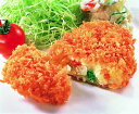 ニチレイ)衣がサクサクのコロッケ(野菜) 70g×20個入(業務用食材 コロッケ 洋食 肉料理 冷凍食品)