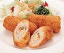 トップシェフ)ポークロールカツ(チーズ入)60g×10本入(業務用食材 とんかつ・メンチカツ 洋食 肉料理 冷凍食品)