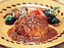 MCC)カレーソースDEハンバーグ180g(業務用食材 ハンバーグ 洋食 肉料理 冷凍食品)