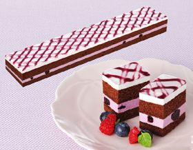 味の素)フリーカットケーキ ブルーベリー 475g(業務用食材 冷凍食品 洋菓子 ケーキ)